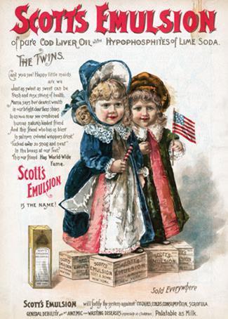 Scott's Emulsion poster