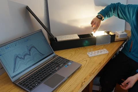 Analytical software and a make your own spectrometer