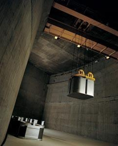 Stored nuclear waste
