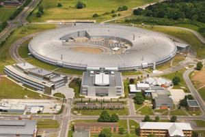 The Diamond Light Source site in Didcot, Oxfordshire