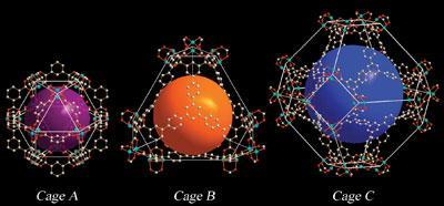 Cage structures for hydrogen storage 2