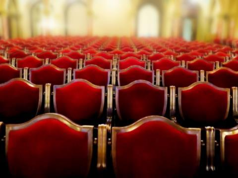 Chairs in a theatre
