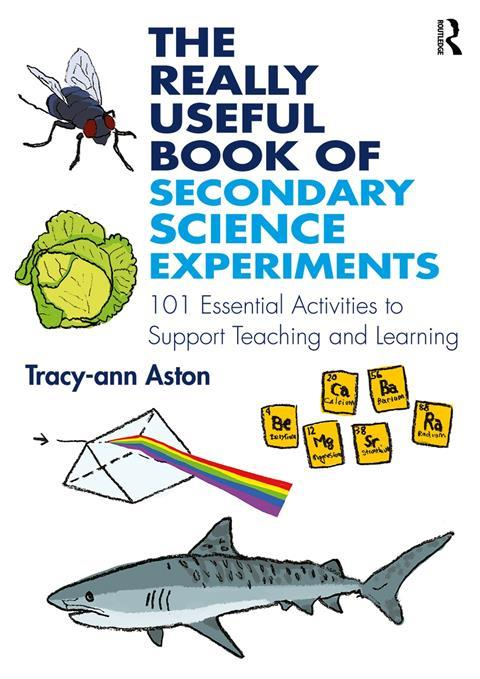 Book cover of 'The really useful book of secondary science experiments'