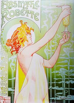 An advert for absinthe from 1896