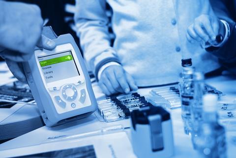 A portable Raman spectrometer