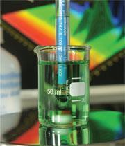 Testing an ammonium chloride solution