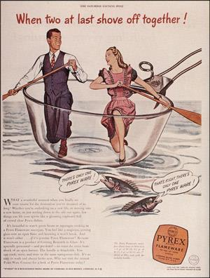 Pyrex advert