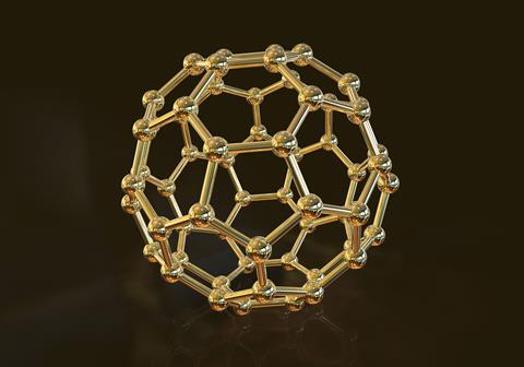 An image showing the structure of fullerene