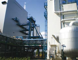 A carbon capture plant in Germany