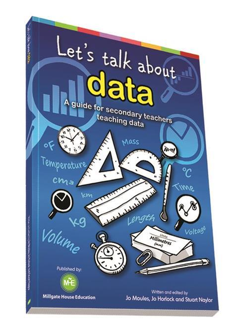 Book cover - Let's talk about data