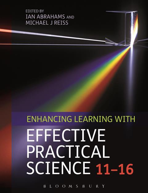 Book cover: Enhancing learning with effective practical science 11-16