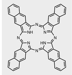 Naphthalocyanine structure