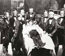 Early surgical anaesthesia