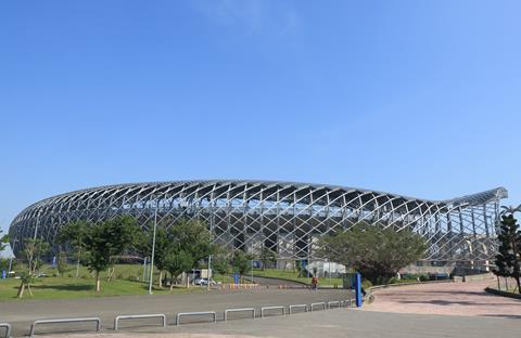 Kaohsiung National Stadium in Taiwan