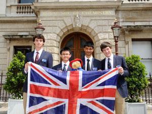 UK Chemistry Olympiad team 2013