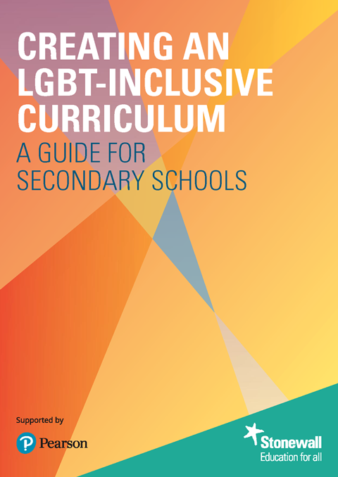 Cover – Creating an LGBT-inclusive curriculum