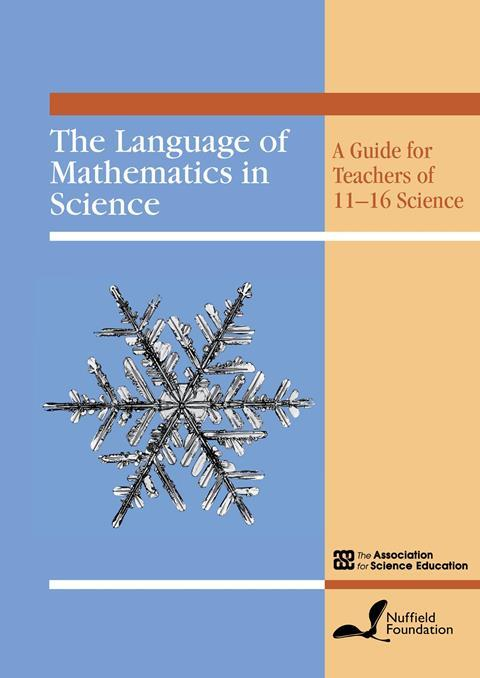 Cover - Language of Mathematics in Science