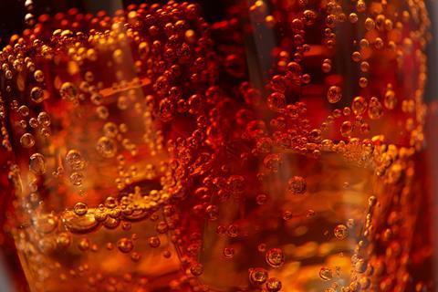 Bubbles in Coca-Cola