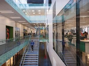 The new Central Teaching Hub at the University of Liverpool