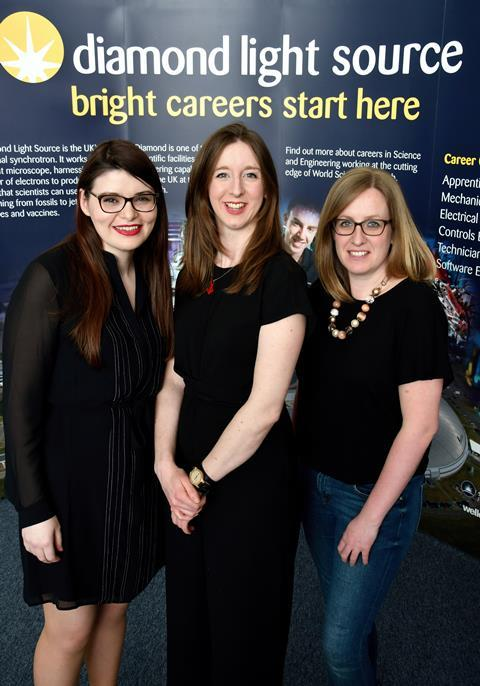 (L-R) Claire Murray, Laura Holland, Julia Parker