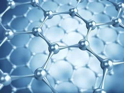 Nanotechnology - a graphene structure