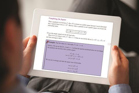 Maths for chemists on i pad