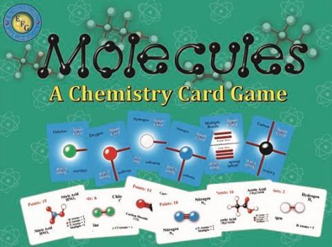 Molecules screen shot close up