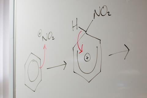 An image showing an organic mechanism