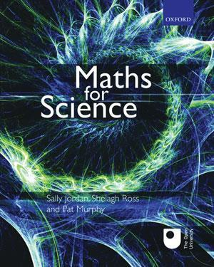 Book cover - Maths for science