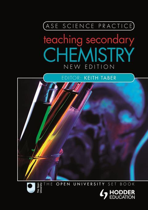 Book cover: Teaching secondary chemistry