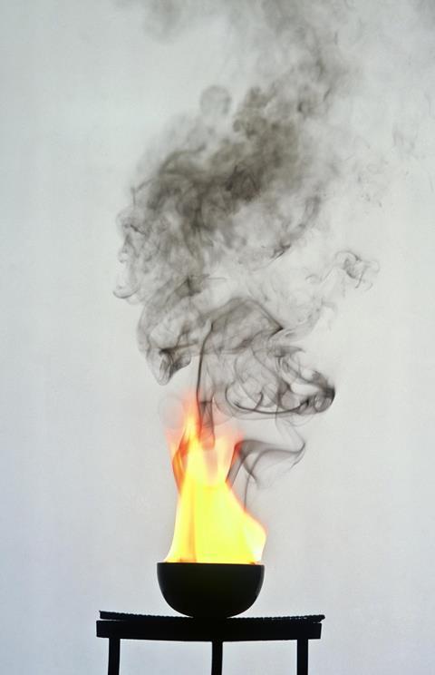 Sooty flame