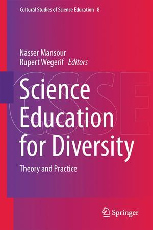 Book cover - Science education for diversity