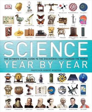 Book cover - Science year by year