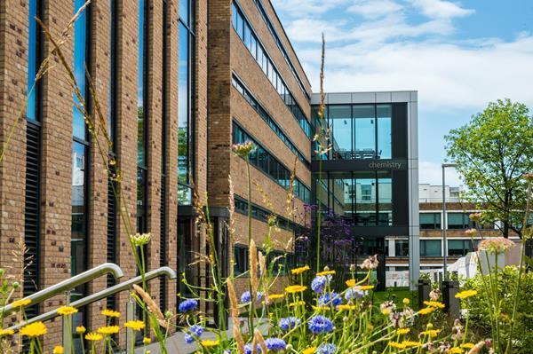 Lancaster University Chemistry department building